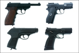 * Пистолеты и револьверы