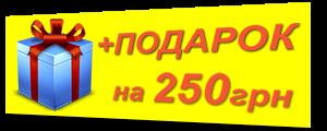 +Подарок синий 250
