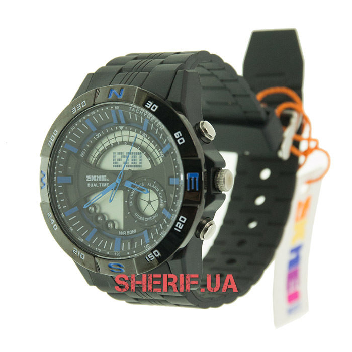 Часы Skmei 1110 Black-Blue BOX