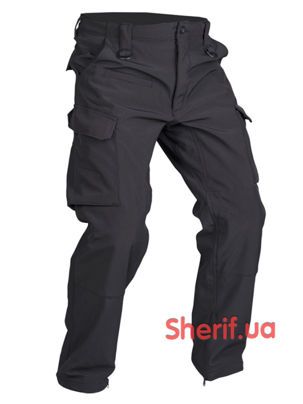 Брюки MIL-TEC Softshell HOSE  Explorer Black