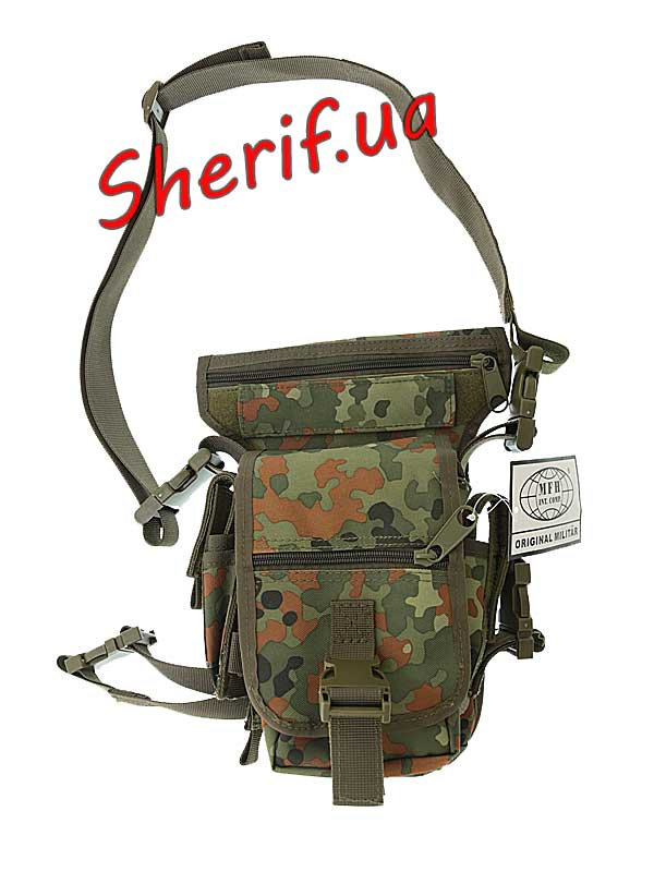 Сумка поясная Hip Bag Max Fuchs Flecktarn
