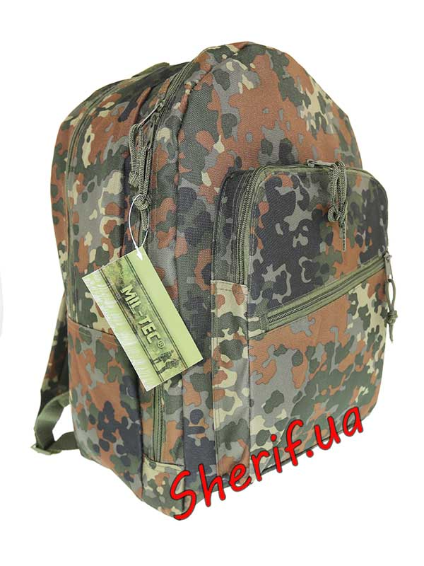 Рюкзак MIL-TEC Day Pack PES Flecktarn, 25л