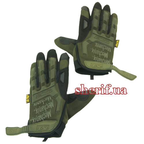 Перчатки Mechanix Wear M-Pact FF Olive