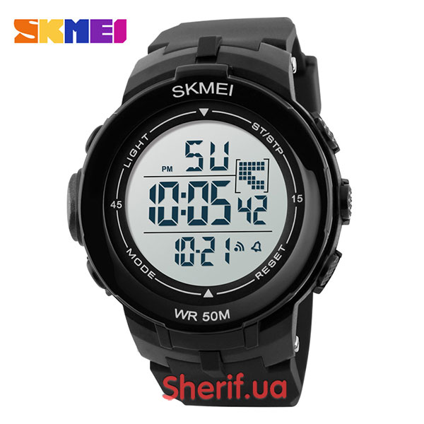 Часы Skmei DG1127 Black/White