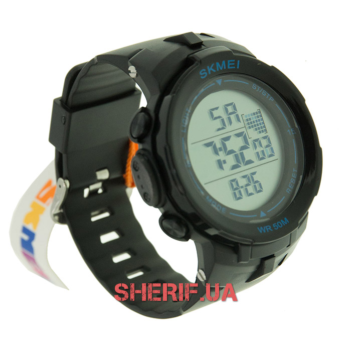 Часы Skmei DG1127 Black-Blue BOX