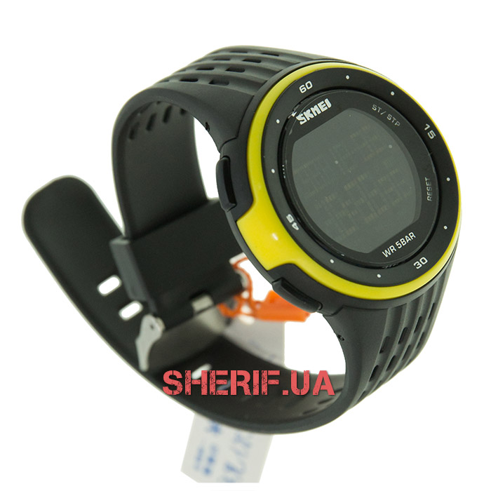 Часы Skmei DG1219 Yellow BOX