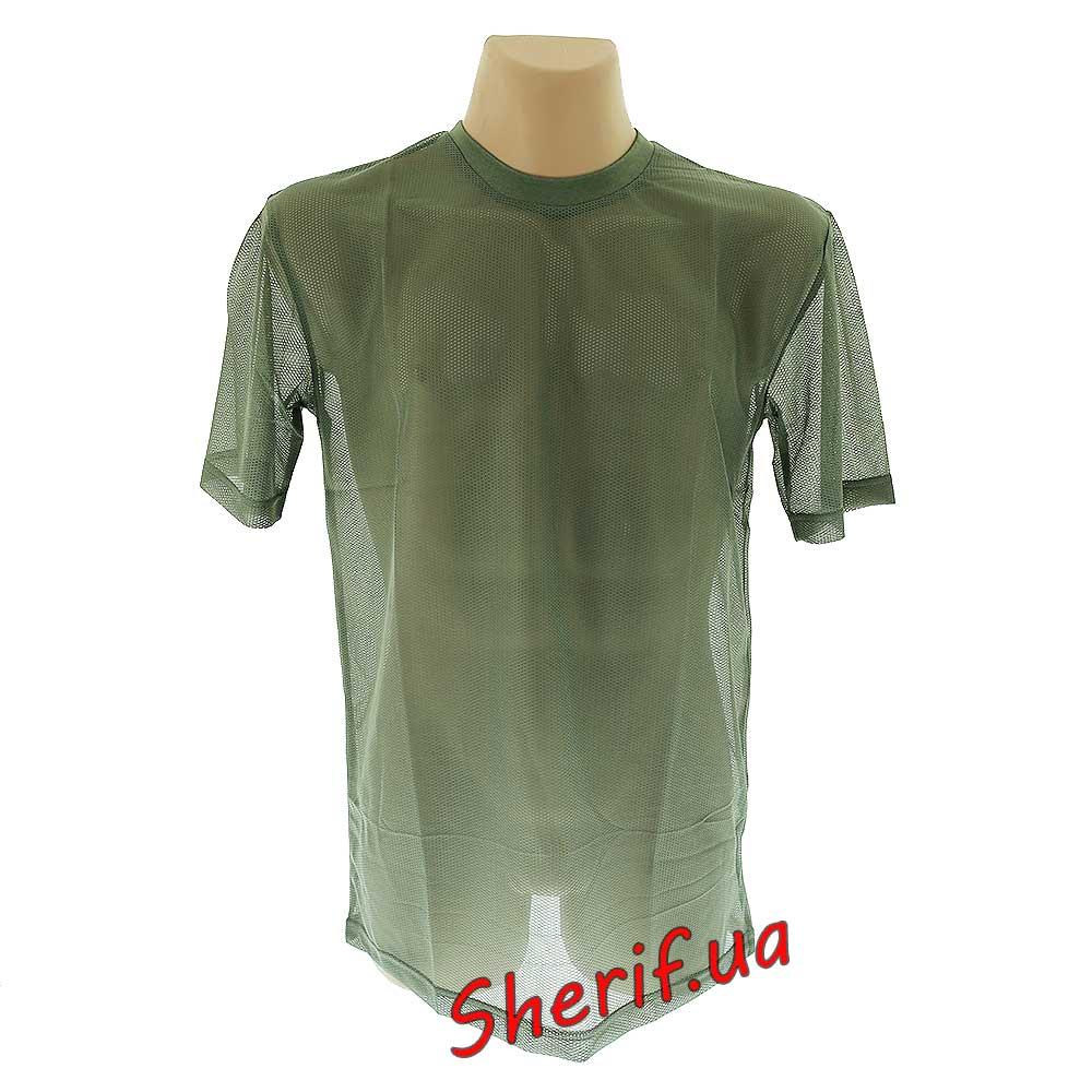 футболка сетка печать