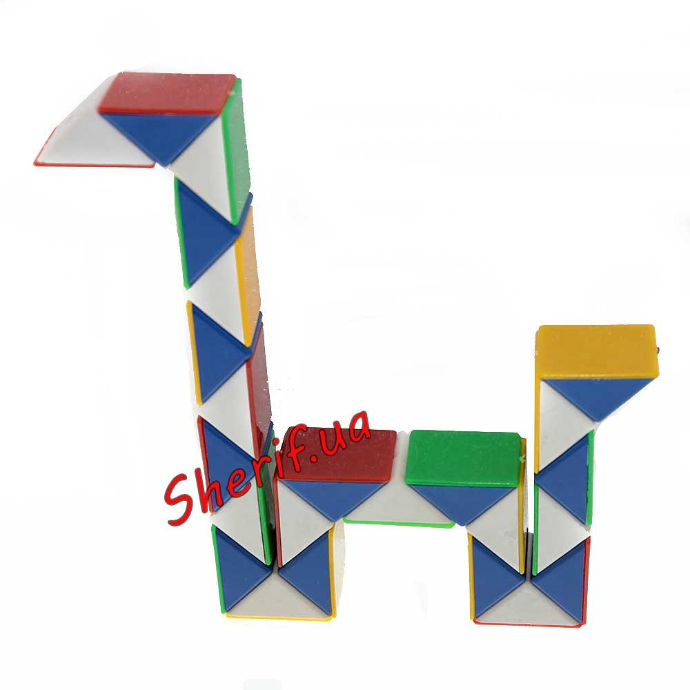 Как сделать собачку из змейки рубика пошаговая инструкция