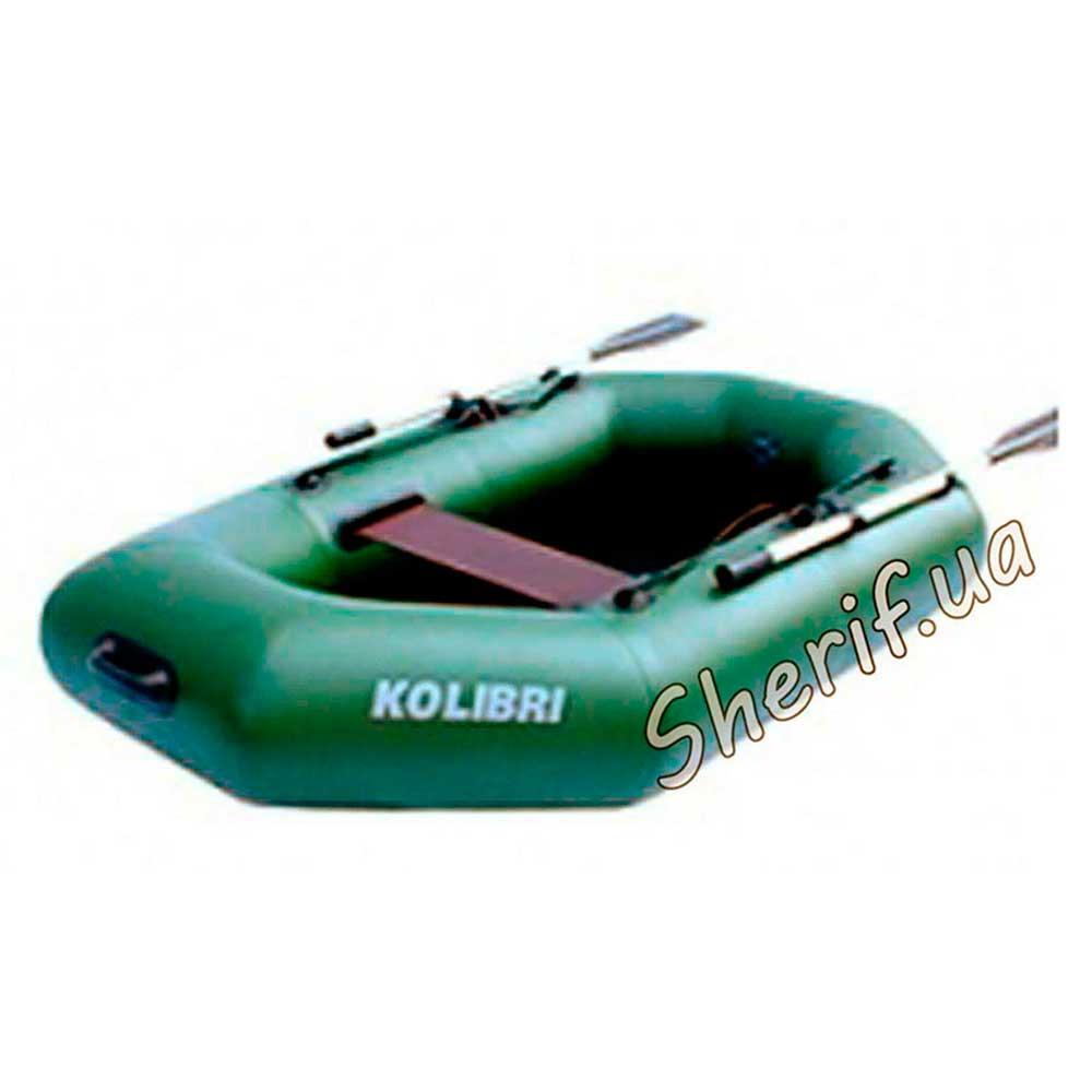 одноместная гребная лодка kolibri к 220