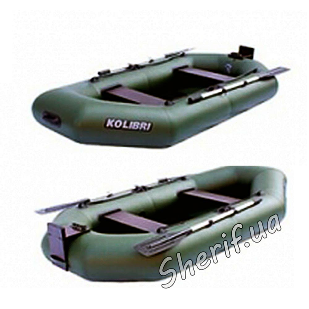 надувная гребная лодка kolibri к 260т