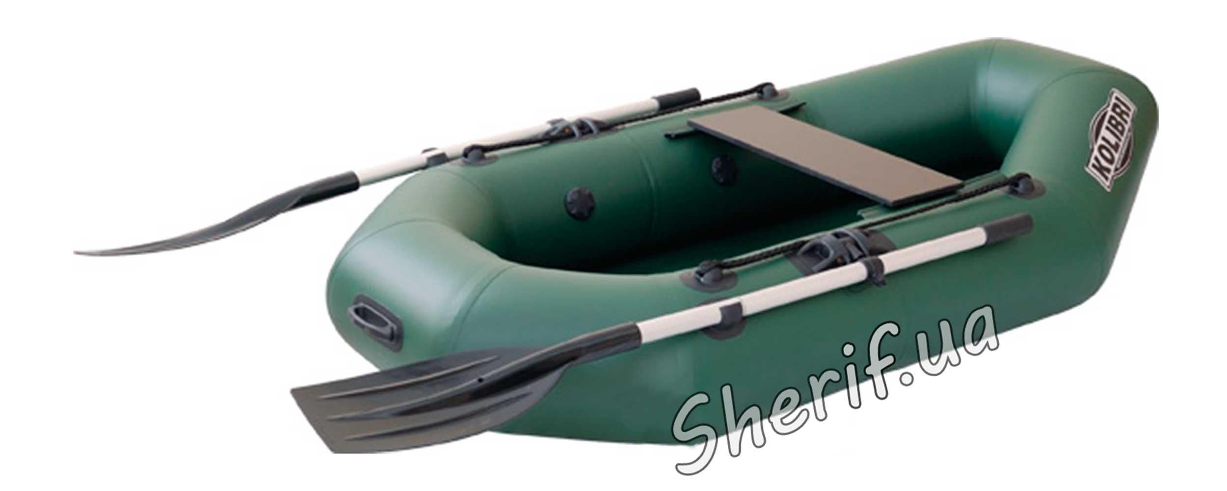 надувная гребная лодка к-190 колибри
