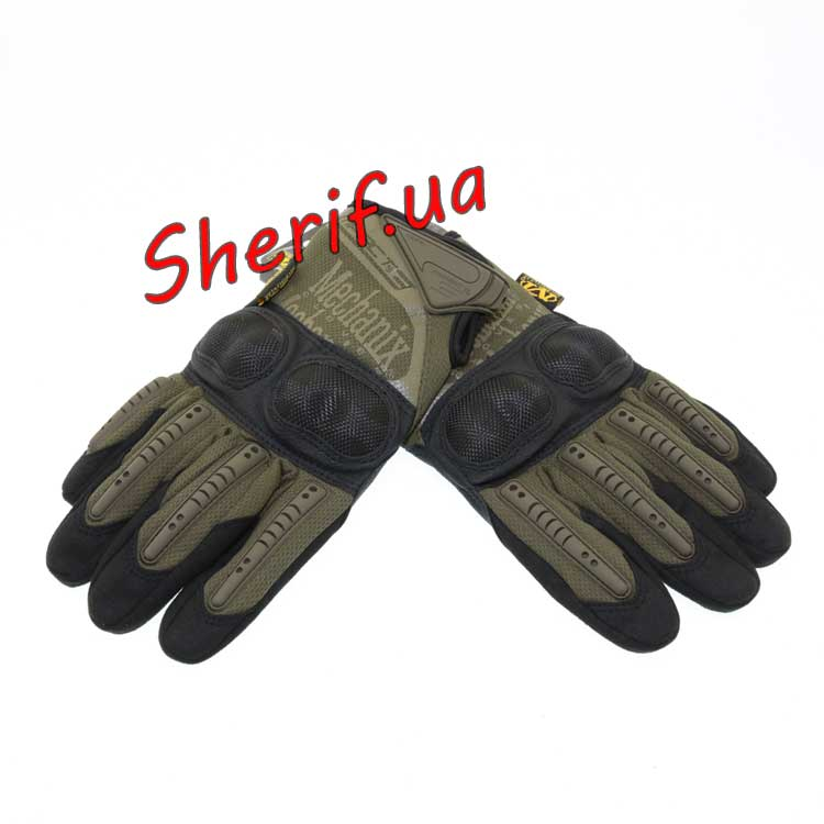 Перчатки Mechanix Wear M-Pact 3 FF+ пл.кост. Olive