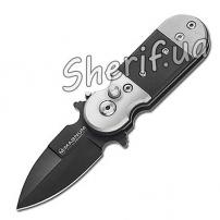 Нож BOKER MAGNUM BLACK LIGHTNING клинок 5.0 см складной 01SC148