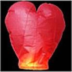 Небесный фонарик 'Сердце большое'