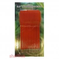 Стрелы для пист.арбалета Man Kung MK-PL-O, пластик,12 шт/уп, ц:оранжевый