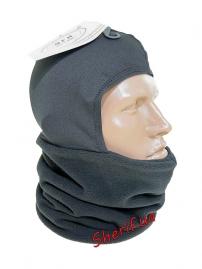 Балаклава шарф-труба с отделом для головы Max Fuchs Black