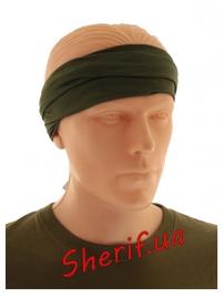 Мультифункциональный шарф Max Fuchs BUFF Olive-3