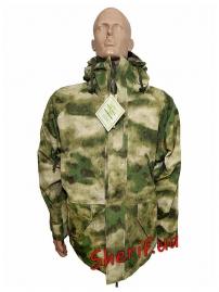 Куртка MIL-TEC ветро-влагозащитная с флисовой подстежкой AT FG