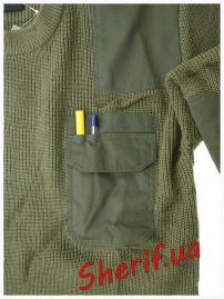 10803001 Пуловер MIL-TEC BW акриловый-5