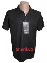 Тактическая футболка-поло Black
