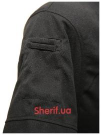 Тактическая футболка-поло Black-3