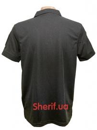 Тактическая футболка-поло Black-4