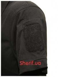 Тактическая футболка-поло Black-5