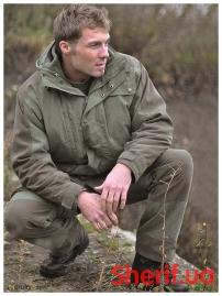 Парка охотничья MIL-TEC с флисовой подкладкой Green-3