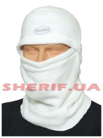 Шлем-маска Витязь из полар-флиса White