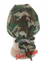 Бандана MIL-TEC под шлем-каску Woodland-2