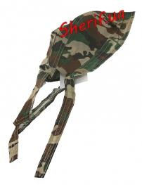 Бандана MIL-TEC под шлем-каску Woodland-5