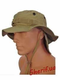Панама MIL-TEC  брит. спецназа с защитой шеи Coyote