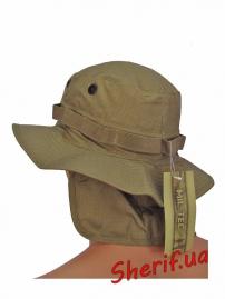 Панама MIL-TEC  брит. спецназа с защитой шеи Coyote, 12326105 3