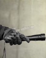 Перчатки MIL-TEC тактические кожаные Black