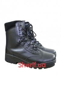 Ботинки MIL-TEC TACTICAL STIEFEL LEDER Black