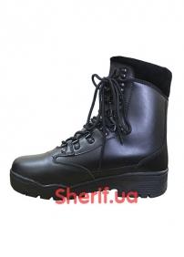 Ботинки MIL-TEC TACTICAL STIEFEL LEDER Black 3