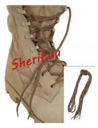 Шнурки MIL-TEC хлопок Coyote 180см 2 пары