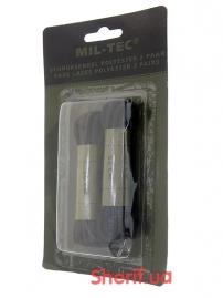 Шнурки для ботинок MIL-TEC 80cм Polyester Black