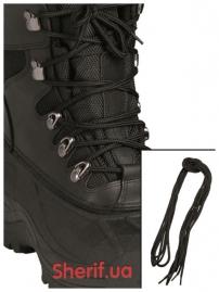 Шнурки для ботинок MIL-TEC 80cм Polyester Black-2