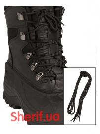 Шнурки MIL-TEK Black 220см 2 пары, 12912402-3