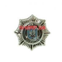 Заколка для женского галстука Национальной полиции Украины (12)