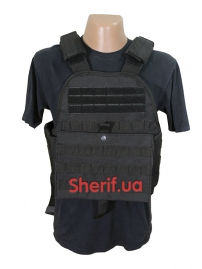 Жилет-носитель Molle PLATE CARRIER VEST Black