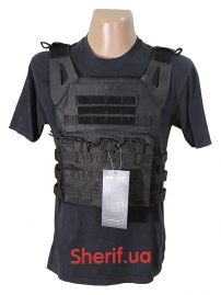 Жилет-носитель PLATE CARRIER GEN. II Black