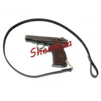 Ремень пистолетный страховочный (кожа)-3