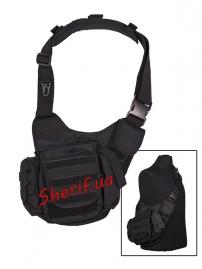 Сумка через плечо многофункциональная Sling Bag MIL-TEC Black