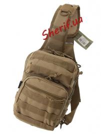 Рюкзак MIL-TEC через плечо Assault Coyote, 8л-2