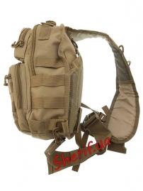 Рюкзак MIL-TEC через плечо Assault Coyote, 8л-3