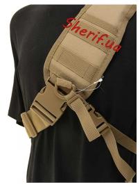 Рюкзак MIL-TEC через плечо Assault Coyote, 8л-7