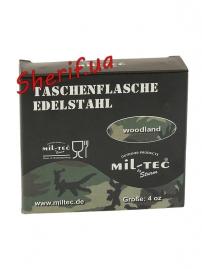 Фляжка MIL-TEC Woodland 4 унции (110мл)-5