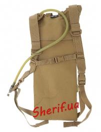 Гидратор MIL-TEC (бак для воды) Basic с лямками 3л Coyote, 14537105 6